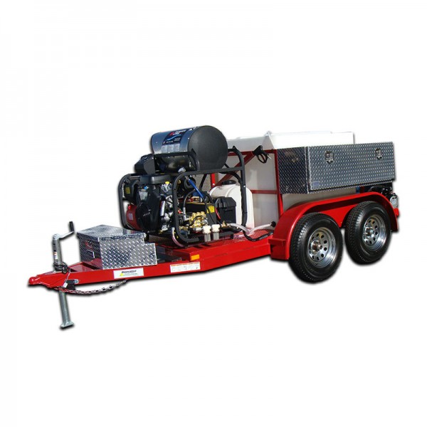 Sewer Amp Drain Line Jetter Trailer Mounted Hot Water Hot