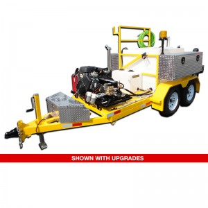 Sewer Trailer Jetter Tandem Axle Economy Series with Upgrades